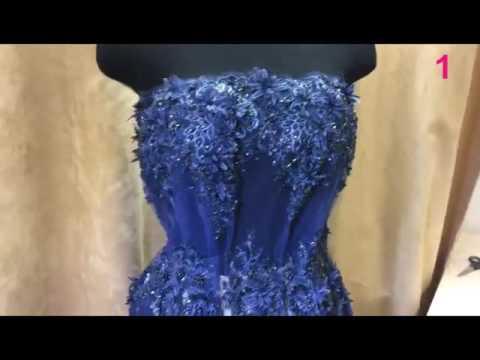 Длинные вечерние платья в пол весна-лето 2017