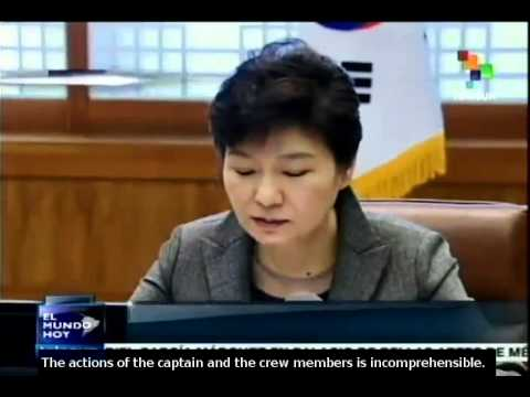 Seuol: It's murder for captain to abandon ferry, Park Geun-hye