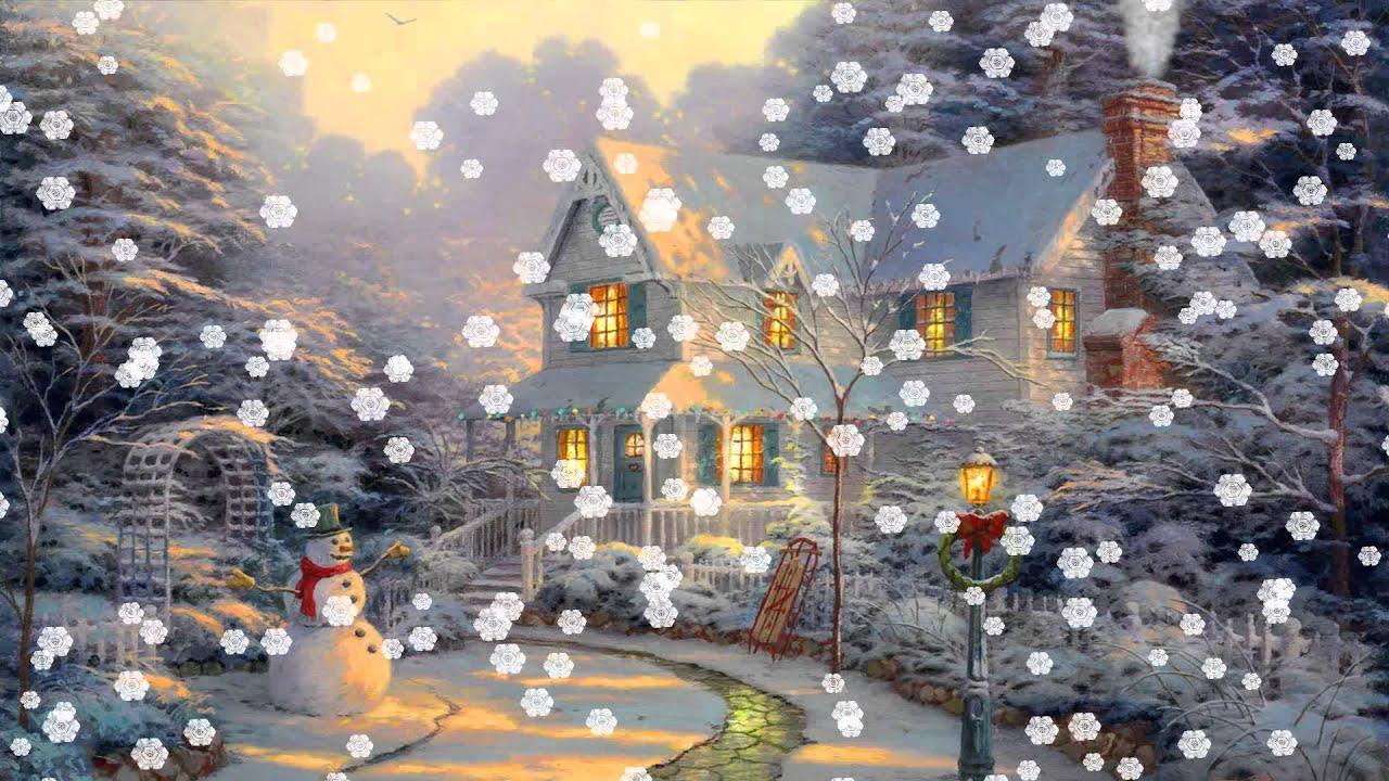 Christmas Eve Animated Wallpaper http://www.desktopanimated.com - YouTube
