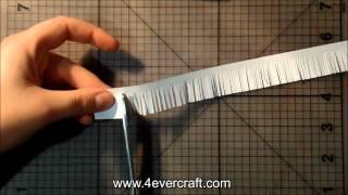 как сделать хризантему из квиллинга