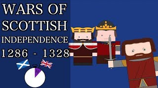 Ten Minute English and British History #13 - The First Scottish War of Independence.
