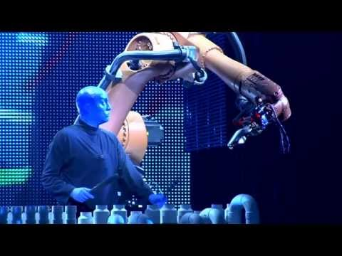 Blue Man Group and KUKA Industrial Robots for Factory Automation