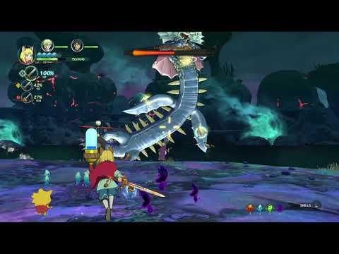 Ni no Kuni II  Revenant Kingdom - Fighting Hydropolis Kingmaker |