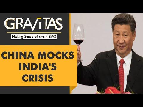 Gravitas: China celebrates India's suffering