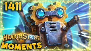 A MICROBOT THAT Tried The IMPOSSIBLE | Hearthstone Daily Moments Ep.1411