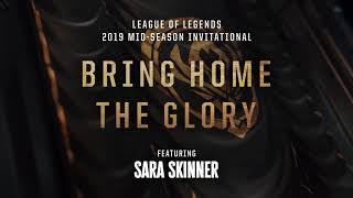 Bring Home the Glory (8D AUDIO) (ft. Sara Skinner) [OFFICIAL AUDIO] | MSI 2019 - League of Legends