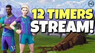 🔴12 TIMERS STREAM! // MEDLEM SCRIMS! // Creator Code: HIGHGROUND // Norsk Fortnite Stream