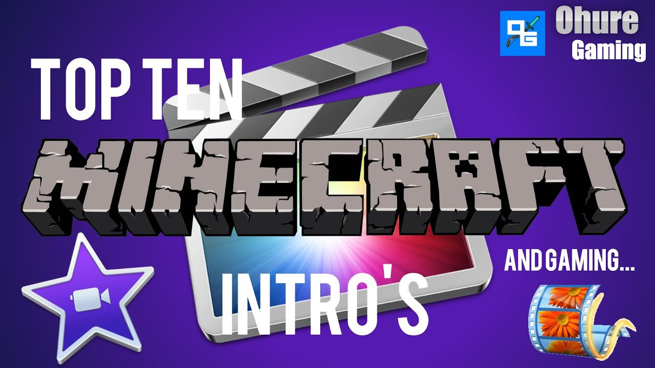 Free top ten minecraft and gaming intro templates movie maker minecraft and gaming intro templates movie maker imovie after effects maxwellsz