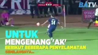 Deretan Penyelamatan Ajaib Almarhum Achmad Kurniawan |  AREMA | Kiper Terbaik Indonesia