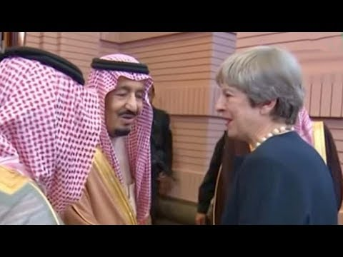 British PM meets Saudi King to 'discuss' Yemen humanitarian aid
