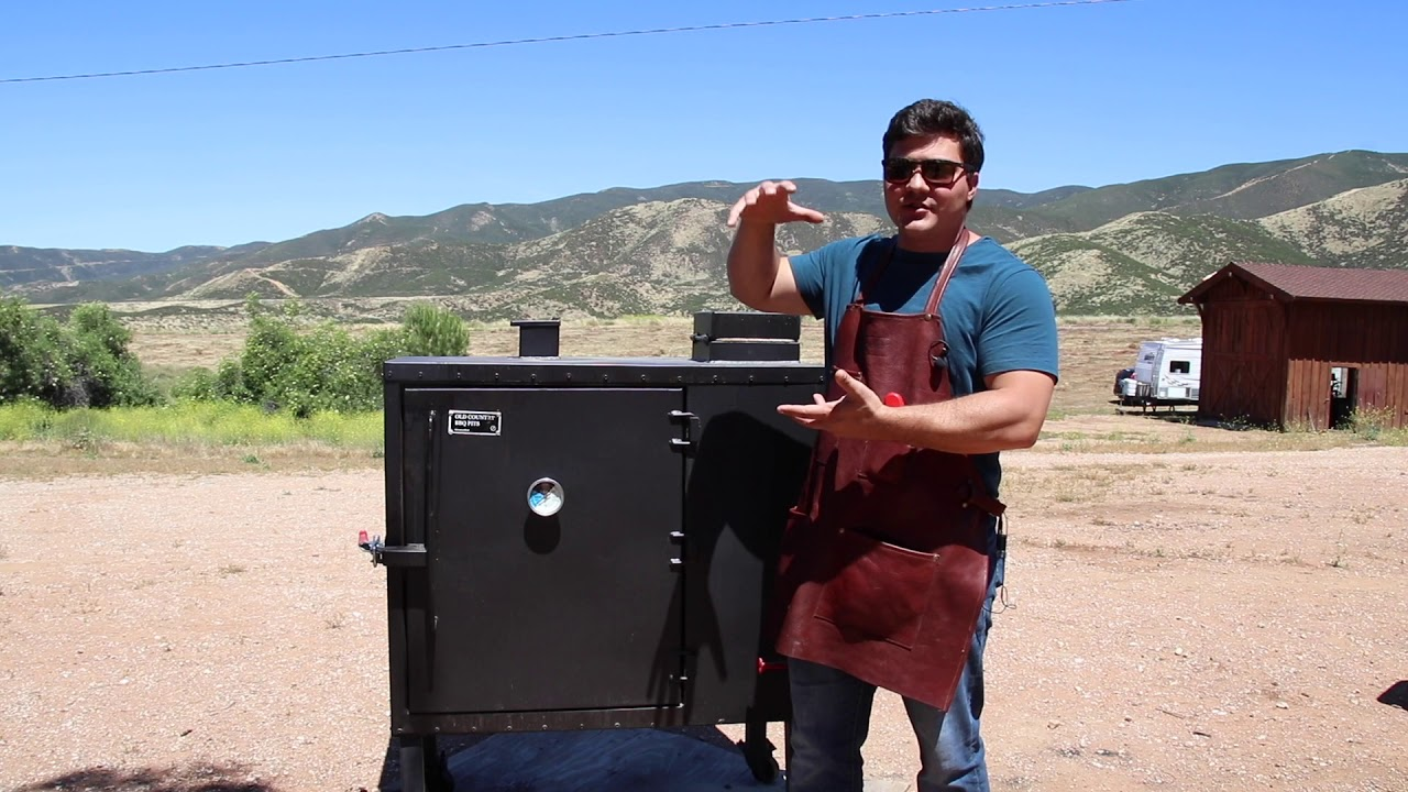 Old Country BBQ Pits Gravity-Fed Smoker Review