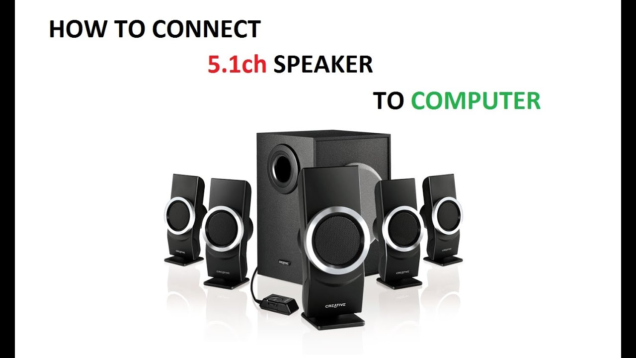 how to hook up logitech computer speakers to tv No, but if your tv also has a coax or optical output, you can decode the surround but if you were connecting, say, a set of 51 computer speakers, they would all decoder and speakers separately, then you can buy logitech z906 speakers.