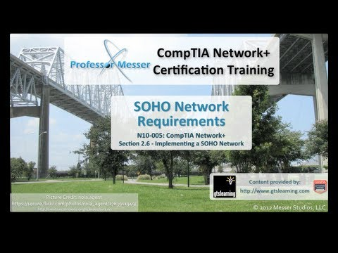 SOHO Network Requirements - CompTIA Network+ N10-005: 2.6