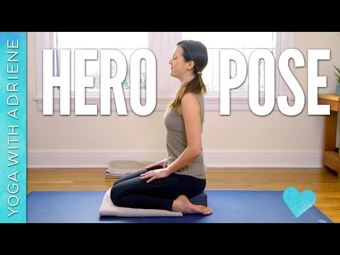 Hero Pose - Virasana - Foundations of Yoga