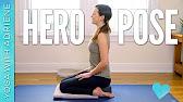 Hero Pose - Virasana - Foundations of Yoga