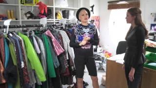 Jessie J In The Fashion Cupboard
