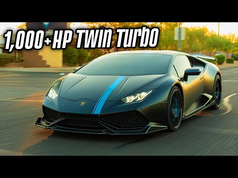 My New TWIN TURBO LAMBORGHINI HURACAN (1,000 HP)