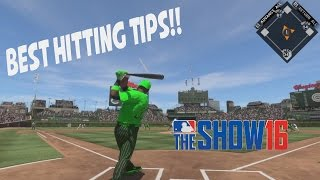 Best Hitting Tips! MLB The Show 16