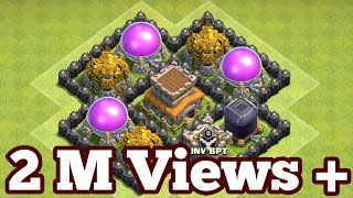 Save your loot Town hall 8 Base Farming Clash of clan 2017