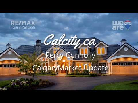 Percy Connolly Calgary Real Estate Market Update 2018