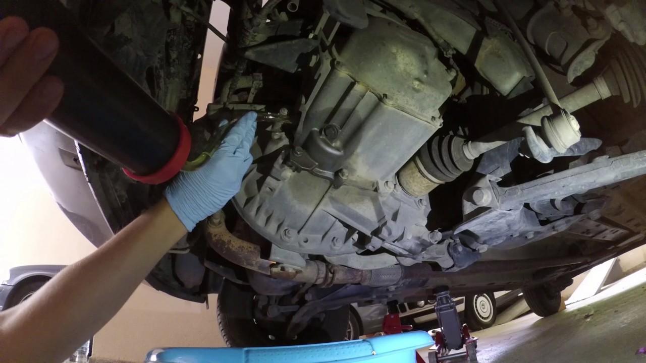 Fiat Panda '11 gearbox transmission fluid change