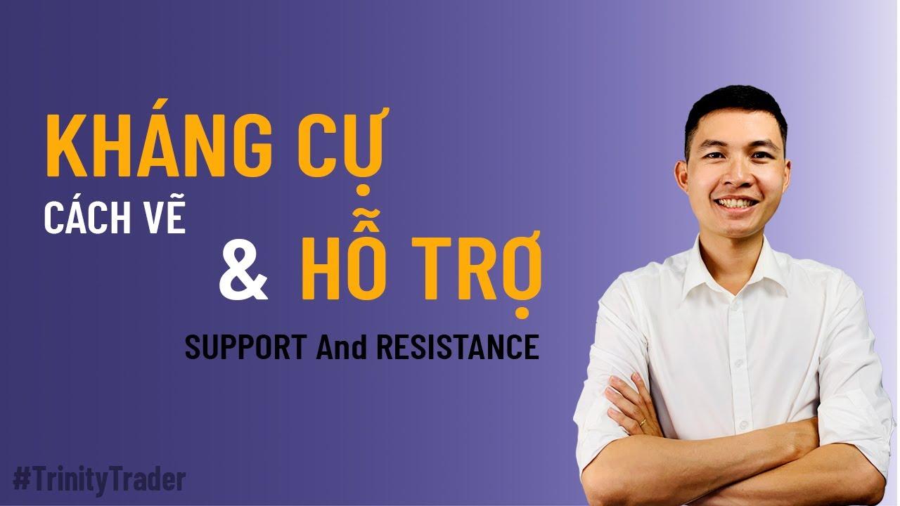 [Trinity Trader] #10 Học Forex | Cách Vẽ Kháng Cự & Hỗ Trợ ( Support and Resistance )