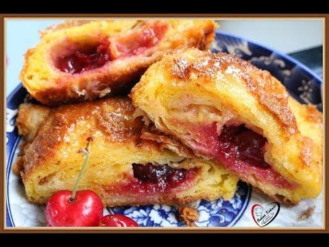 Bakina kuhinja - soćna štrudla sa trešnjama bez mešenja
