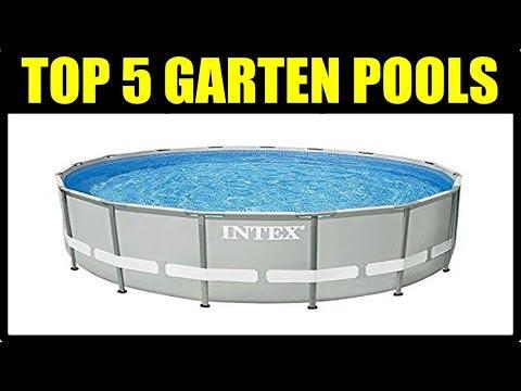 ► TOP 5 SWIMMINGPOOL BECKEN ★ Garten Pool ★ Schwimmbad Pool ★Intex Pool, Bestway Pool deutsch...