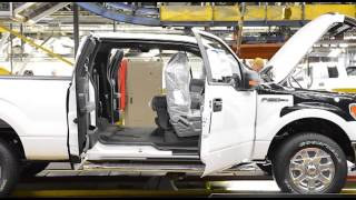 Ford Motor Company celebrates the 100th anniversary of the moving assembly line