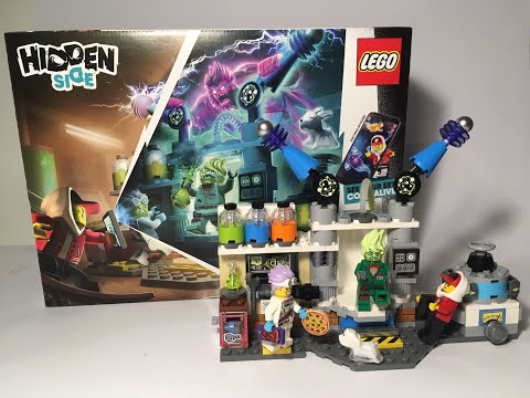 Lego Hidden Side set 70418 J.B.'s  Ghost Lab review | Bricks in Lithuania