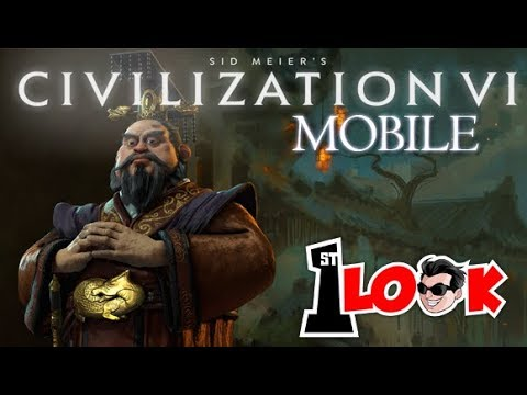 Sid Meier's Civilization VI Mobile !  Are you ready to CONQUER the World ? (1st Look iOS / iPad)