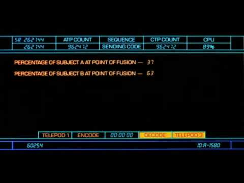 The Fly (1986) - Cat-Baboon Teleportation