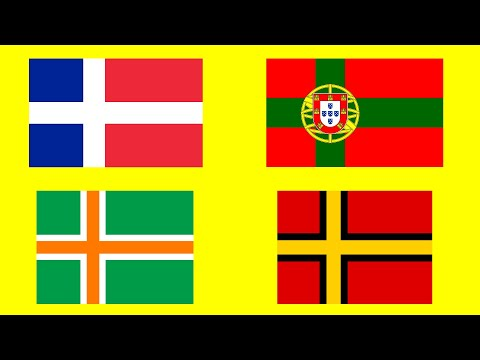 If European Countries were Nordic - Fun with Flags