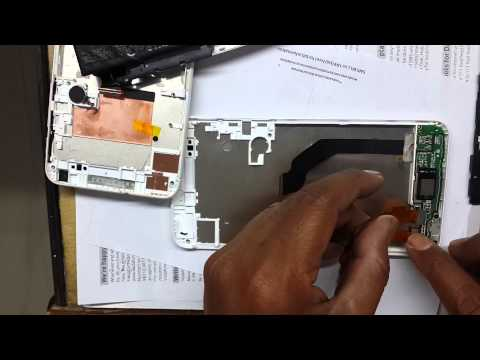 How to change touch screen Lcd HTC Desire 816 G | HTC 816G disassambly