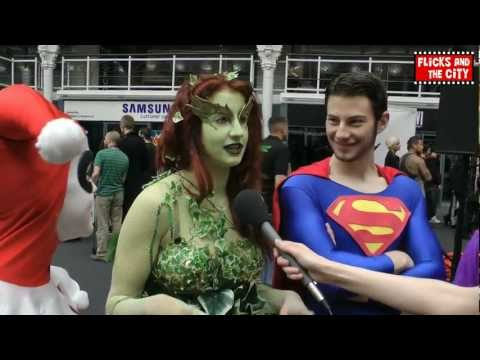Poison Ivy, Superman, The Joker, Harley Quinn & Two-Face Cosplay Interview