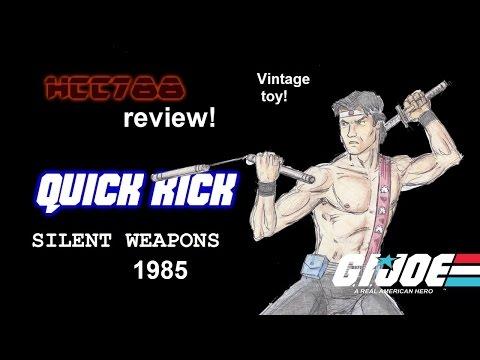 HCC788 - 1985 QUICK KICK - G. I. Joe toy review! HD S02E03