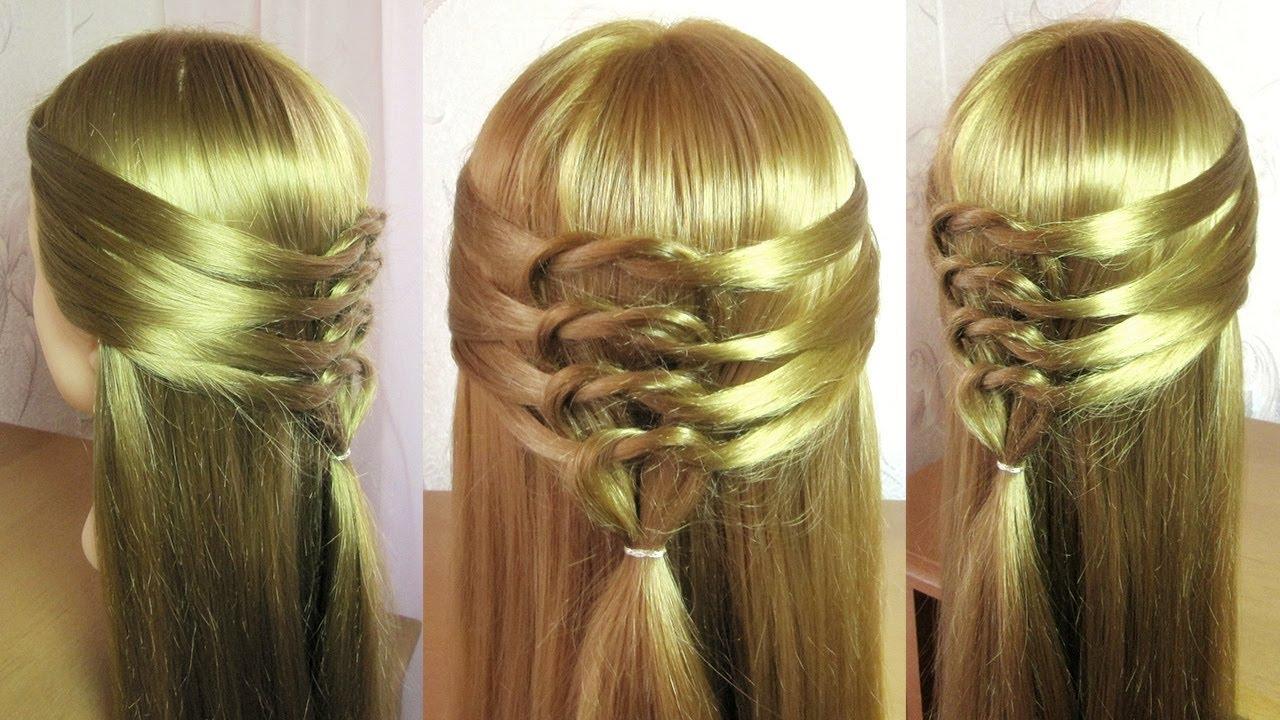 tuto coiffure simple et rapide cheveux mi long coiffure facile a faire soi meme