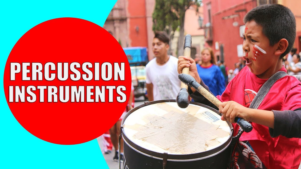 Percussion Instruments for Kids - Demonstration and Sounds of Best  Percussion Instruments