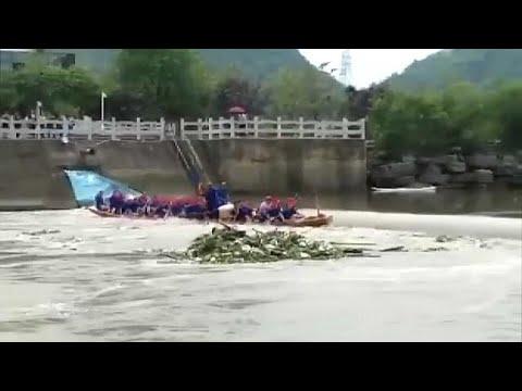 euronews (deutsch): Tödlicher Unfall mit chinesischen Drachenbooten