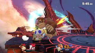 SWS Matchup 1v1 - Evan (Daisy) vs. BKDK (Donkey Kong)