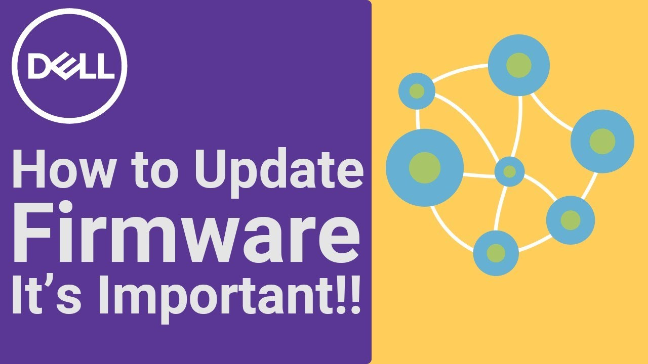 How to Update Firmware (Official Dell Tech Support)