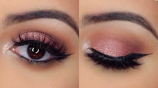 Rose Gold Makeup Look | Modern Renaissance Palette Tutorial