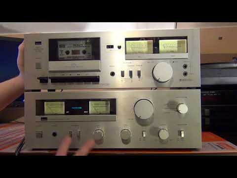 TEST SANSUI A 40 D 90 AUDIO GOLDEN AGE