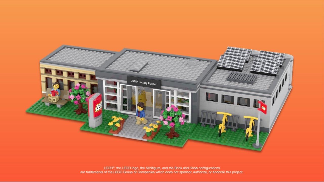 LEGO Ideas - LEGO Factory Playset