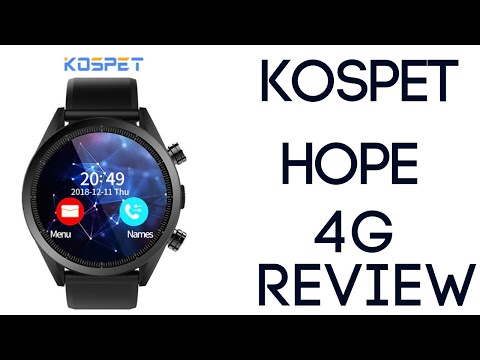 Kospet Hope 4G Smartwatch Review - 3GB/32GB Android 7.1.1 IP67 Waterproof