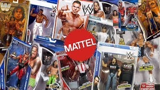 How Many Different WWE Superstars Have Mattel Made Figures Of??? Part 3