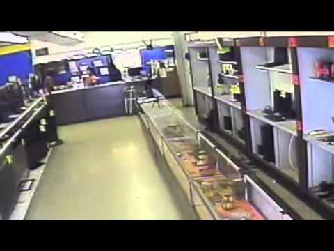 Surveillance Video: Village Jewelry and Loan Robbery