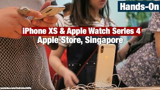 Review Hands On iPhone Xs / Xs Max & Apple Watch Series 4 di Apple Store - Indonesia