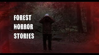 3 Scary True Forest Horror Stories