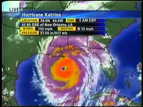 Weather Channel - Hurricane Katrina - Aug 29, 2005 (630am Update)